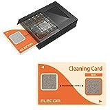 エレコム ICクリーニングカード 接点式クリーナー 【 ETC/B-CASカード/ICカード/クレジットカード決済端末機 対応 】 乾式 CK-CR1