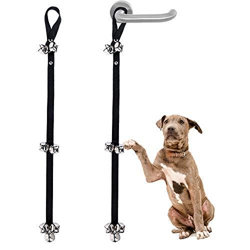 Campanas de Adiestramiento de Perros, 2PCS Puerta de Perro Mascota...