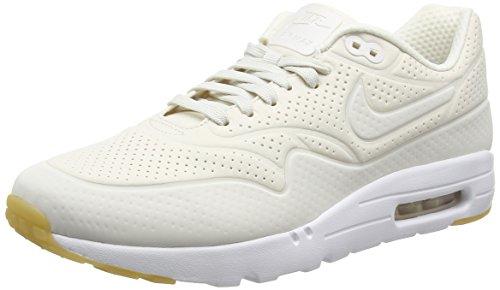 Nike Herren Air Max 1 Ultra Moire Laufschuhe, Beige (Phantom/Phantom/White/White/Gym Yellow), 45 EU