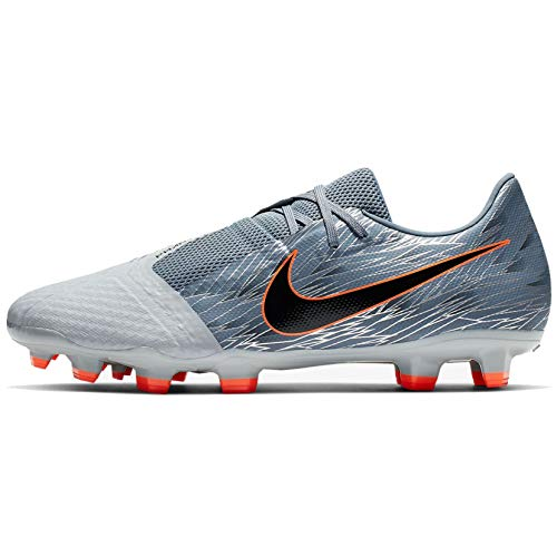 Nike Phantom Venom Academy FG Soccer Cleats (Wolf Grey/Hyper Crimson) (Men's 11/Women's 12.5)