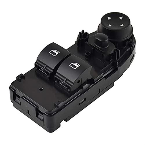 ZhuFengshop Interruptor De Control para Ventana Eléctrica Regulador Botón Consola para BMW Serie 3 E92 320d 325i 328xi 330xd 335is 318i M3 61319132158 (Color : Without Folding)