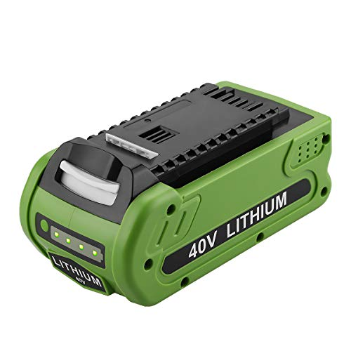 Energup 40V 2500mAh Replacement Lithium Battery for GreenWorks 29472 29462 Battery GreenWorks 40V G-MAX Power Tools 29252 20202 22262