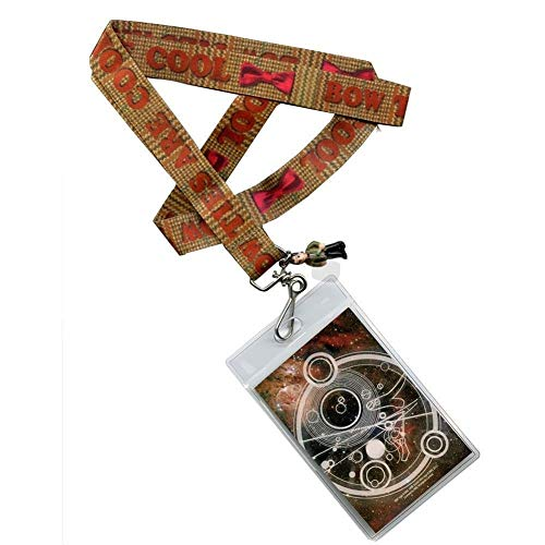 Underground Toys Doctor Who Bow Ties Are Cool Lanyard with 3-D Charm