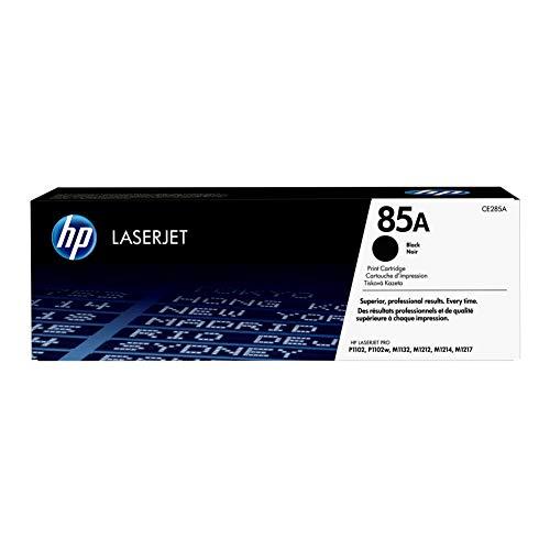 HP 85A | CE285A | Toner Cartridge | Black | Works with HP LaserJet Pro M1212nf, M1217nfw, P1102w, P1109w