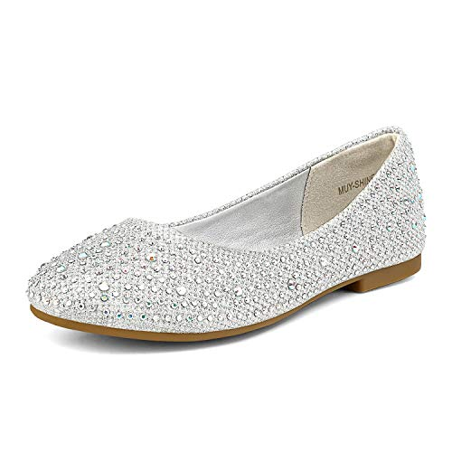 Top 10 best selling list for glitter ballet flat shoes