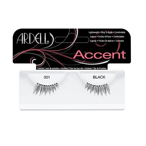 Ardell Accents Lashes 301 Black by Ardell Lashes (English Manual)