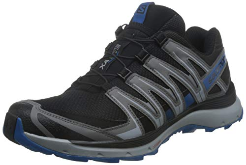 Salomon XA Lite, Zapatillas de Trail Running Hombre, Negro/Azul (Black/Quiet Shade/Imperial Blue), 42 EU
