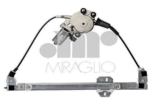 Mécanisme de lève-vitre avant gauche avec moteur Fiat Seicento 1998 > 2010