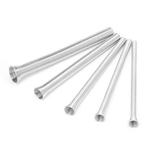 Liukouu 5Pcs 21cm Super Elastic Steel Spring Bender Tubo de PVC Cable...