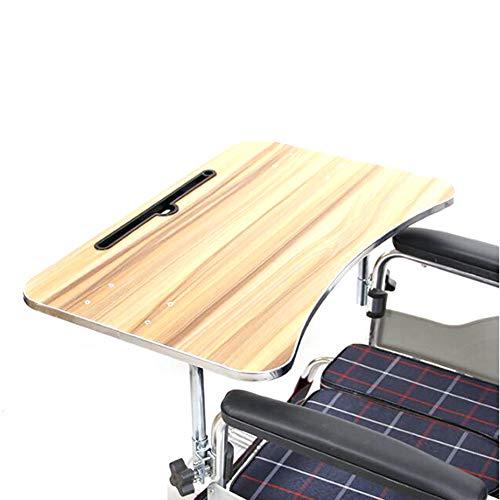 ZCPDP Rollstuhl Tablett,Tisch tragbar Knietablett Zubehör Kind Stuhl Tablett Schreibtisch für Essen Snack,Rollstuhlzubehör,Geeignet für ältere Menschen Behinderung Leute