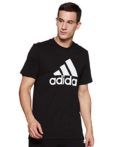 Adidas Must Haves Badge of Sport Tee, T-Shirts Uomo, Black/White, M
