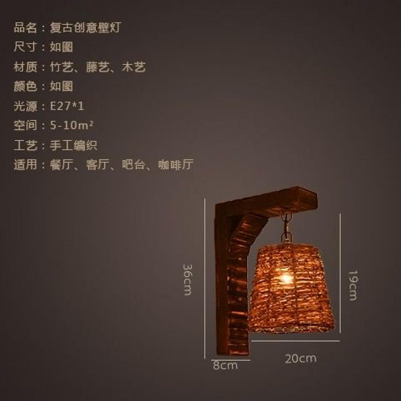 StiefelU LED Wandleuchte nach oben und unten Wandleuchten Schlafzimmer Nachttischlampe rustikalen retro Wohnzimmer Restaurant Studie Schlafzimmer Nachttischlampe Vogel Wand leuchten