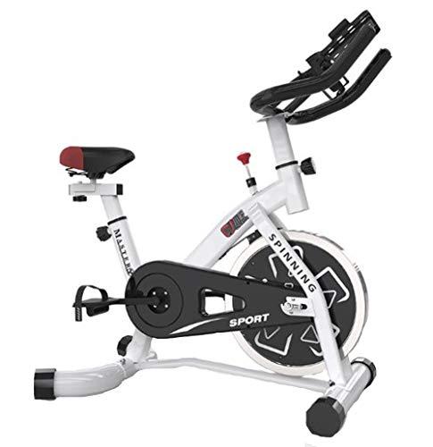 Lcyy-Bike Bicicletta Allenatori Esercizio Bici Manuale Regolabile Resistenza Fitness Cardio Allenamento con Portatablet Regolabile Altezza Sedile Domestico Commerciale Palestra Unisex