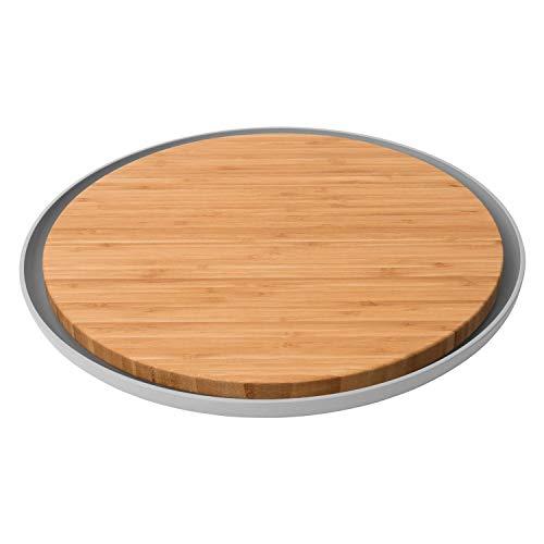 Berghoff 3950058 Planche à découper, Bambou, Marron, 36,5 x 36,5 x 2 cm