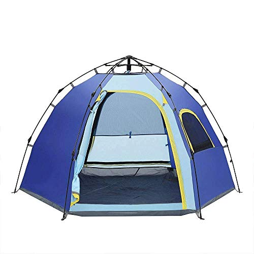 Dhmm123 Durable Camping Tent Camping Tent Backpack Tent Automatic Pop up Outdoor Sports Tent Camping Awning 245 * 245 * 145cm,Easy to Install