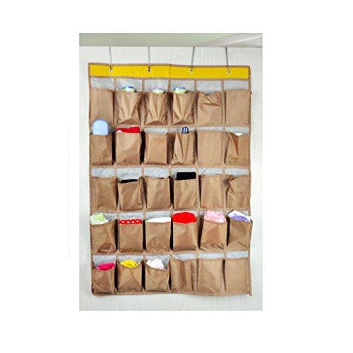 Wasserdicht Ox Mehrschichtige 30 Taschen Tür/Wand/Schrank Ablagefächer Wand-Taschen Hanging Aufbewahrungstasche Badezimmer Tidy Organizer