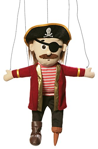 Pirate Peach Marionette String Puppet