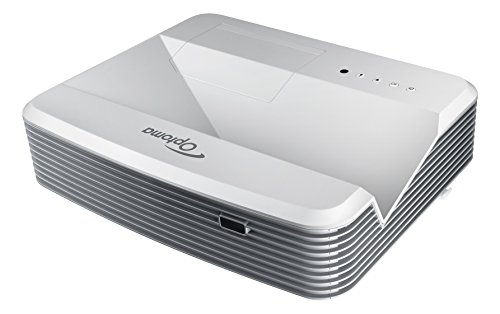 Optoma Ultra Short Throw 3D 1080p Projector (EH320UST),White