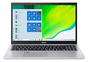 Acer Aspire 5 A515-56-73AP 15.6  Full HD IPS Display 11th Gen Intel Core i7-1165G7 Intel Iris Xe Graphics 16GB DDR4 512GB NVMe SSD WiFi 6 Fingerprint Reader Backlit Keyboard