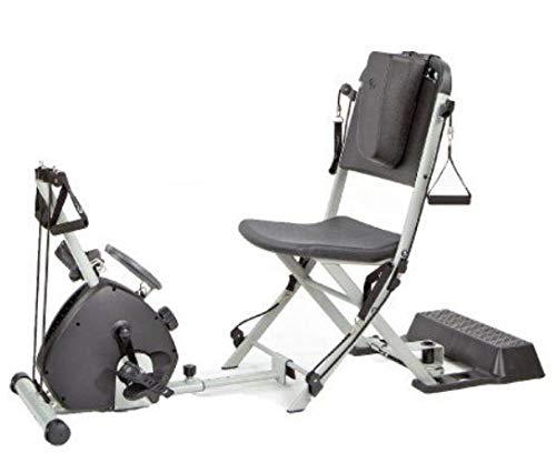 Resistance Chair and Smooth Rider II Home Exercise Gym System Bundle