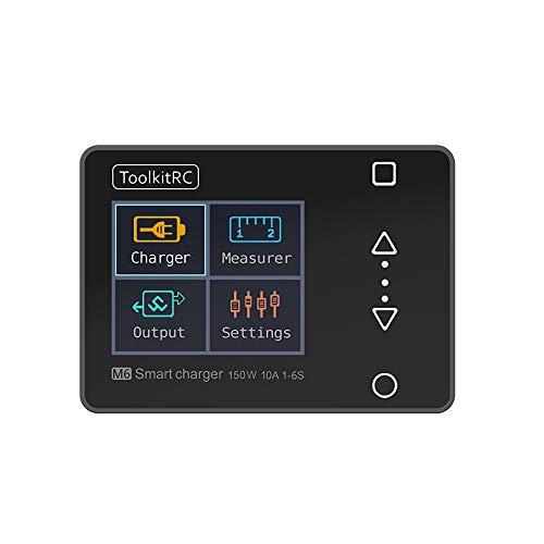 Gogh Mini Balance oplader met USB-interface met oplaadfunctie, geschikt voor 2 tot 6S lithium batterijen, quadcopter, op afstand bestuurde boten en auto's.
