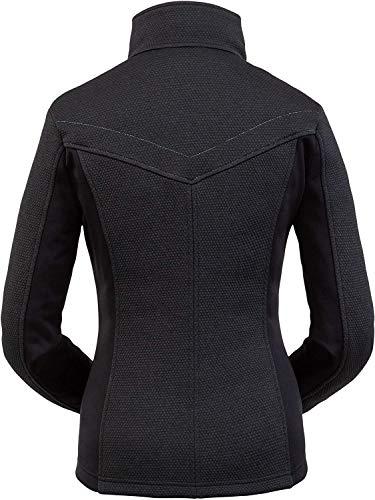 Spyder Damen Fleecejacke ENCORE FULL ZIP, Black, M, 194068
