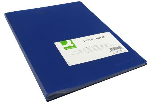 Q Connect 40-POCKET affichage livre – Bleu