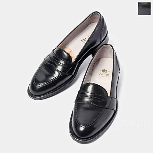 [オールデン]メンズ革靴PennyローファーコードバンDワイズ68458.5:約26.5cmブラック[並行輸入品]