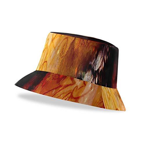 Sombrero de cubo para niños Dragón antiguo y adorno para niñas y sombrero de cubo lindo Wat suavemente borroso Unisex, elegante y liviano, con estampado lindo Sombreros de cubo disponibles en