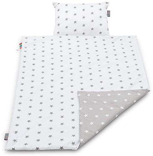 Lajlo Baby Blanket Set - Unisex Handmade 100% Cotton Front & Polyester Back...