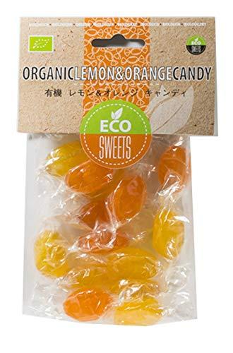 オアシス エコスイーツ 有機 レモン&オレンジ キャンディ 75g ×3袋
