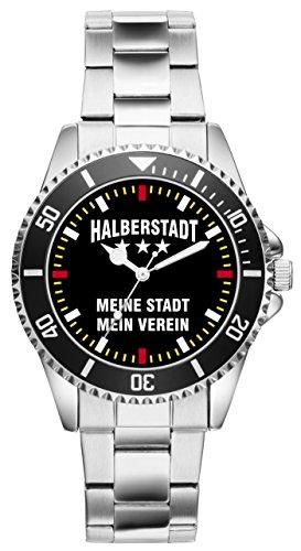 Halberstadt Germania Geschenk Artikel Idee Fan Uhr 2398