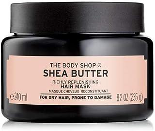 The Body Shop Shea Butter Richly Replenishing Hair Mask, 8.2 Oz