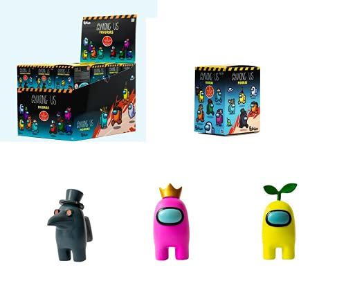 Bizak-  Figura Among Us En Caja Sopresa Mod. Sdos,  Color (64112007)