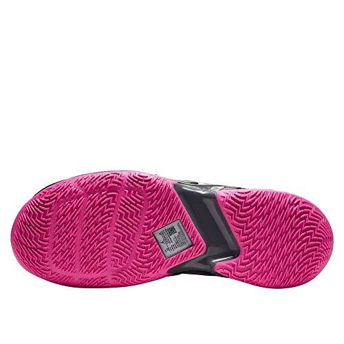 Nike Jordan Why Not Zer0.3, Zapatillas de básquetbol Hombre, Particle Grey/Pink Blast/Black/Iron Grey, 44 EU