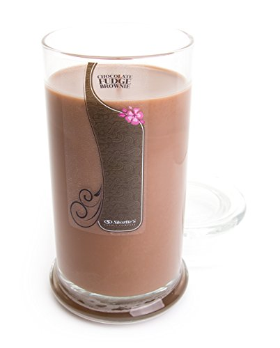 Chocolate Fudge Brownie Candle - Large Brown 16.5 Oz. Highly Scented Jar Candle - Made with Natural Oils - Bakery & Food Collection
