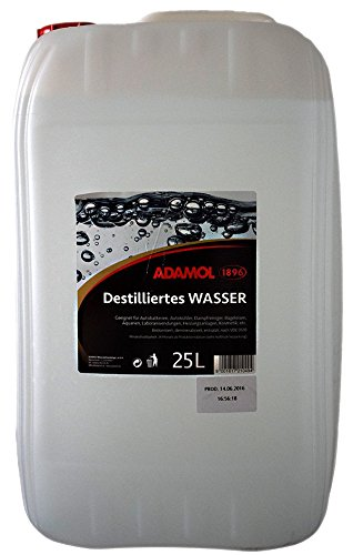ADAMOL 1896 51635249 Destilliertes Wasser 25L