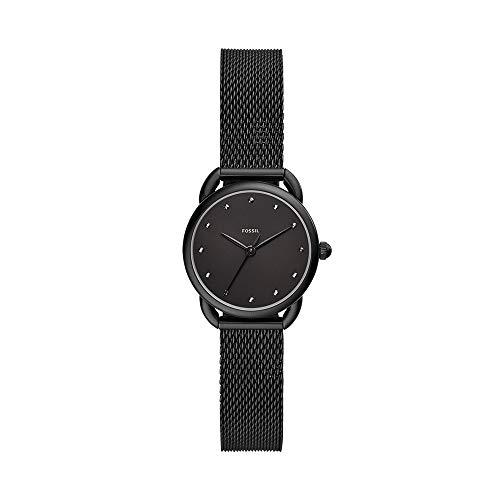 reloj negro mujer fabricante Fossil