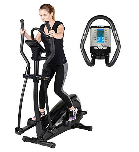 Vélo elliptique motorisé SPORTIS par Care | 24 programmes | 16 résistances motorisées | Capteur de pulsations cardiaques