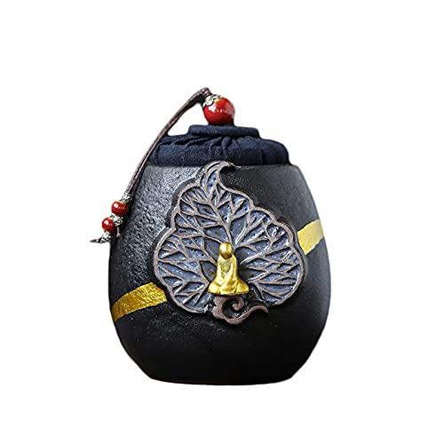 WXMYOZR Memorial Urna Pequeña para Cenizas Humanas Mini Urnas De Cremación De Cerámica Hermosas Y Diminutas Urnas De Recuerdo para Funeral Personal para Mascotas O Cenizas Humanas