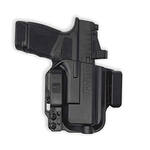Springfield Hellcat Holster - IWB Holster for Concealed Carry / Custom fit to Your Gun - Bravo Concealment