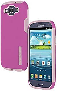 Incipio Samsung Galaxy S3 Double Cover Hard Shell Case with Silicone Core, Pink / Pink - Comes with Viewing Stand (Fits T-Mobile / Verizon / AT&T Galaxy S3)