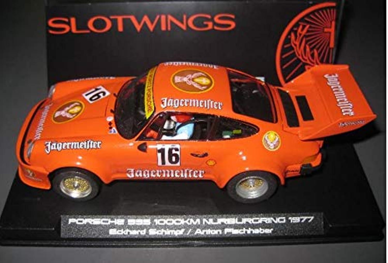 hasta 60% de descuento Fly SCALEXTRIC Porsche 935 935 935 Jagermeister DE NURBURGRIN 77 DE SLOTWINGS  Felices compras