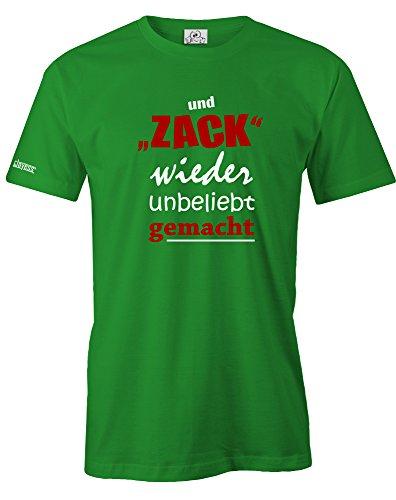 Jayess UND Zack Wieder Unbeliebt GEMACHT - Herren - T-Shirt in Grün by Gr. XXL
