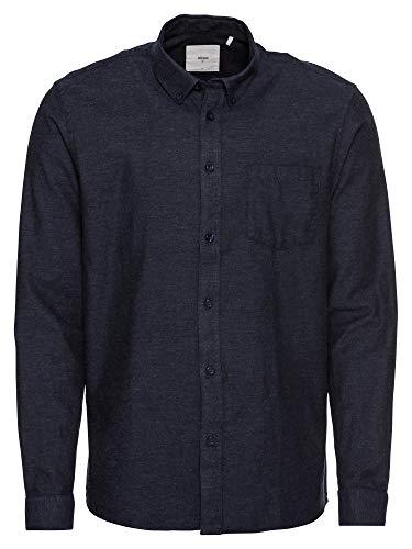 minimum - Shirt - Jay - Navy Blazer Blauw