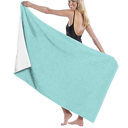 ASIFHAW - Toalla de playa de secado rápido, toalla de playa de colores lisos Pantone de moda primavera, verano, toalla de baño, toalla de playa de secado rápido, 80 x 130 cm
