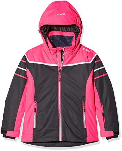CMP Mädchen Skijacke 39W2025 Jacke, Antracite, 128 (M)