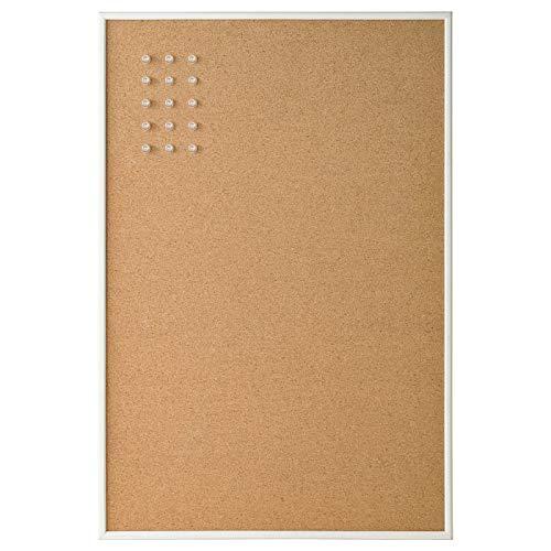 My- Stylo Collection Memoboard mit Pins, Weiß, Maße: 58 x 39 cm (B x H)