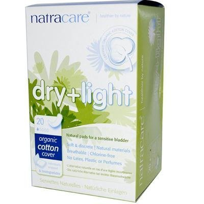 Natracare Dry And Light Pads 20 pads ( Multi-Pack) by NATRACARE
