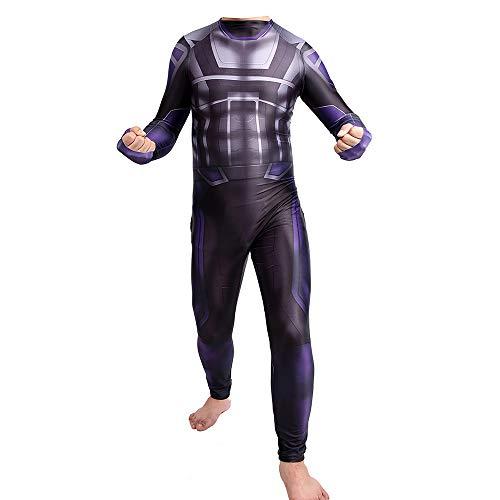 Avengers 4 Hulk Costume, Cosplay Medias siamesas Niños Adultos Mono Disfraces Fiesta de Halloween Ropa de Disfraces de Disfraces,Adult-S